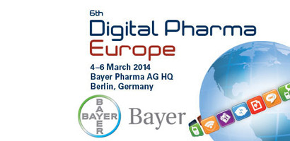 Digital Pharma Europe conference, 4-6 March 2014, Berlin