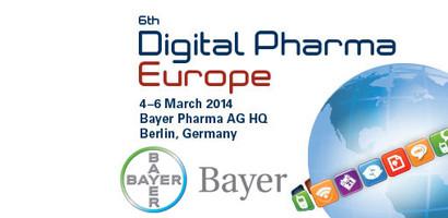 Digital Pharma Europe conference, 4-6 March 2014, Berlin