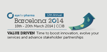 Eyeforpharma conference, 18-20 March 2014, Barcelona