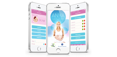Hungary's first Pregnancy App – for both iOS & Android – launched